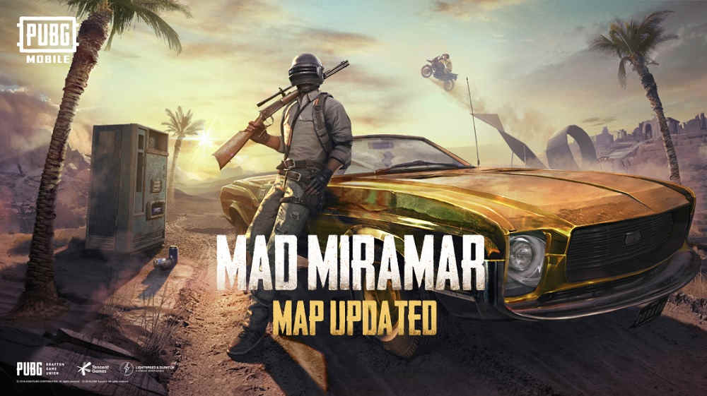 PUBG Mobile Mad Miramar