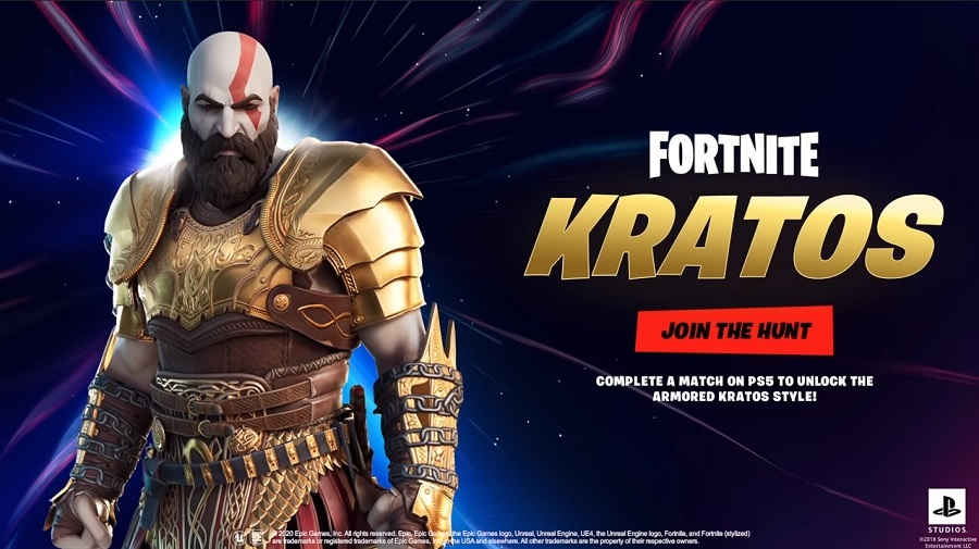 Fortnite Kratos Skin