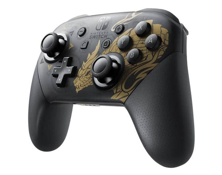 Switch Pro Controller Monster Hunter Rise Special Edition